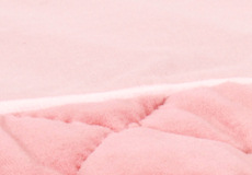 Little Tulip boxkleed sweetheart pink fluweel