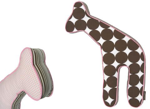 Knuffel Giraffe Blossom van DwellStudio