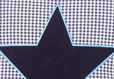 Sierkussen Star blue applicatie