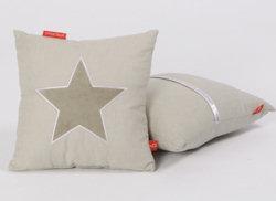 Little Tulip knuffelkussen Star beige