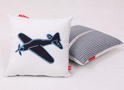 Knuffelkussen Vliegtuig