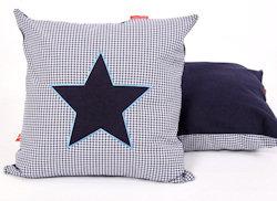 Sierkussen Star blue