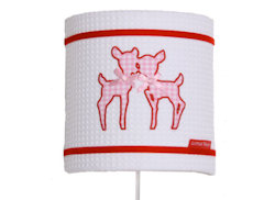 Wandlamp Hertjes roze