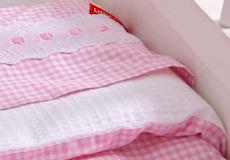 Dekenhoes Sweet pink motief