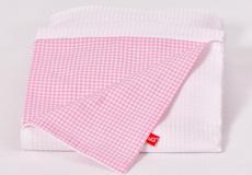 Dekenhoes Sweet pink combinatie