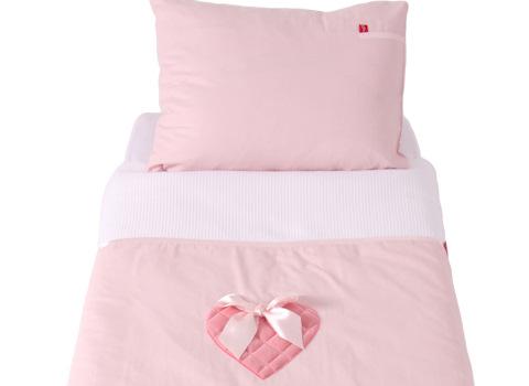 Dekbedovertrek ledikant Sweetheart pink