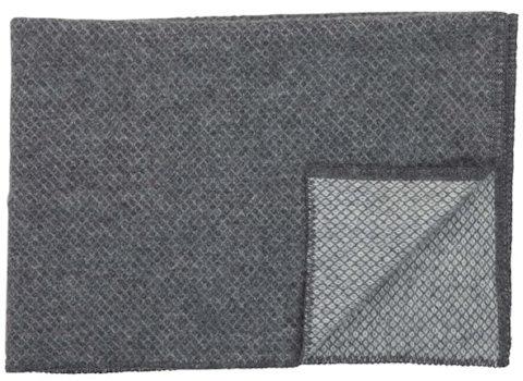 Ledikantdeken Vega wol grijs