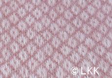 Ledikantdeken Vega wol roze afwerking