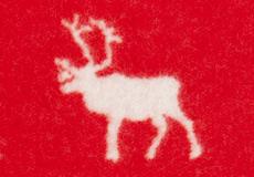 Ledikantdeken Wilderness rood dessin