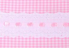 Ledikantlaken Sweet pink motief