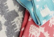 Wiegdeken Schaap wol kleuren