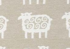 Wiegdeken Schaapjes beige Klippan dessin