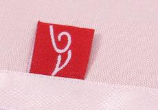Wieglaken Pure pink and satin detail