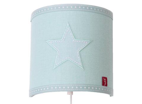 Wandlamp Star aqua
