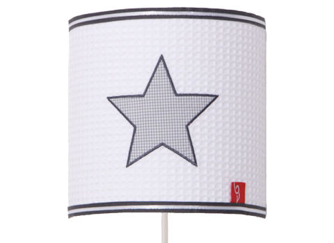 Wandlamp Star cool grey