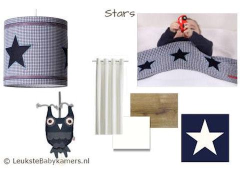 Babykamer Moodboard Stars