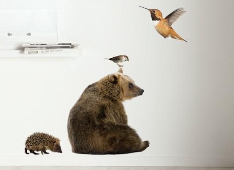muurstickers dieren
